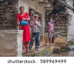 manaslu circuit trek  gorkha...   Shutterstock . vector #589969499