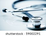 beautiful stethoscope with... | Shutterstock . vector #59002291