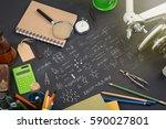education concept   books ...   Shutterstock . vector #590027801