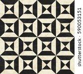 antique geometric floor pattern ... | Shutterstock .eps vector #590053151