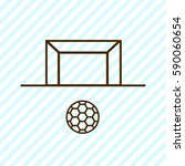 Goal Outline Icon