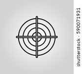 target outline icon
