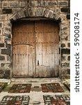 Old Spanish Era Wooden Door