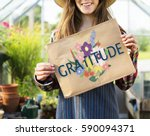 anniversary gratitude honored... | Shutterstock . vector #590094371