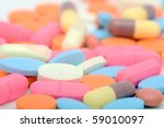 pills as a background | Shutterstock . vector #59010097