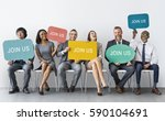 hiring career employment human... | Shutterstock . vector #590104691