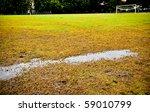 wet football field   Shutterstock . vector #59010799