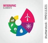 energy concept timeline.... | Shutterstock .eps vector #590111321