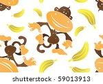 Funky Monkey And Banana...