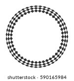 circular wireframe mesh... | Shutterstock .eps vector #590165984