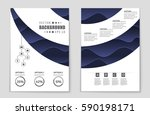 abstract vector layout... | Shutterstock .eps vector #590198171