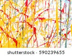 abstract colorful water color... | Shutterstock . vector #590239655