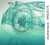 3d model cars | Shutterstock . vector #59025175