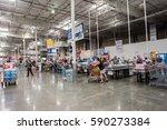 burbank  ca  usa  july 27  2016 ... | Shutterstock . vector #590273384