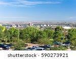 view of albuquerque downtown...   Shutterstock . vector #590273921