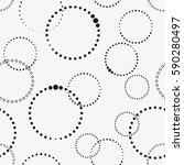 vector seamless pattern.... | Shutterstock .eps vector #590280497