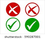 box check mark icon tick symbol | Shutterstock . vector #590287001