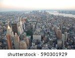 panoramic view of new york city | Shutterstock . vector #590301929