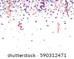 Confetti Abstract Background...
