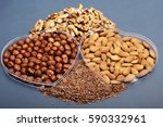 healthy snacks | Shutterstock . vector #590332961
