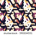 abstract geometric triangle...   Shutterstock .eps vector #590334551