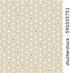 abstract geometric pentagon...   Shutterstock .eps vector #590335751