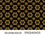 muslim  east ornament  indian... | Shutterstock . vector #590340455
