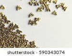 close up of beautiful yellow... | Shutterstock . vector #590343074