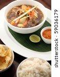 oxtail soup asian food | Shutterstock . vector #59036179