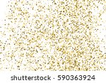 gold glitter texture isolated... | Shutterstock .eps vector #590363924