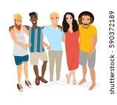 people vector. people...   Shutterstock .eps vector #590372189