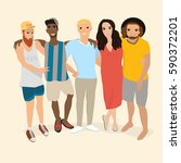 people vector. people... | Shutterstock .eps vector #590372201