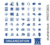 organization icons | Shutterstock .eps vector #590372831