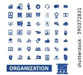 organization icons | Shutterstock .eps vector #590372831