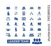 leadership icons   Shutterstock .eps vector #590389031