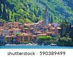 Varenna Town  Lake Como  Italy