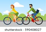 couple of man and woman are... | Shutterstock . vector #590408027