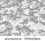 fashionable camouflage pattern  ... | Shutterstock .eps vector #590420864