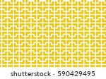 abstract cross mosaic pattern.... | Shutterstock .eps vector #590429495