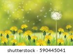 vector  nature  background ... | Shutterstock .eps vector #590445041