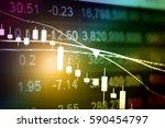 charts of financial instruments ... | Shutterstock . vector #590454797