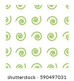 seamless print   spiral pattern | Shutterstock .eps vector #590497031