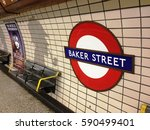 Baker Street Station In London...