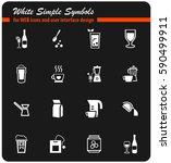utensils for beverages vector...   Shutterstock .eps vector #590499911