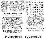 business internet back to... | Shutterstock .eps vector #590508695