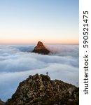 lions head cape town | Shutterstock . vector #590521475