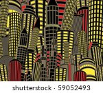 editable vector illustration of ... | Shutterstock .eps vector #59052493