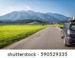car for traveling   Shutterstock . vector #590529335
