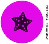 starfish vector  icon | Shutterstock .eps vector #590531561