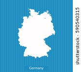 map of germany | Shutterstock .eps vector #590540315